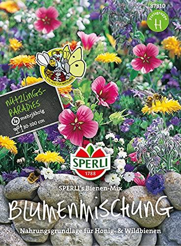 87810 Sperli Premium Blumenmischung Samen Bienen Mix | Wildblumen Samen | Wildwiese Samen| Blumenwiese Samen | Bienenwiese Samen | Bienenwiese Mehrjährig