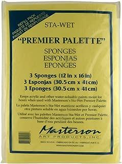 Masterson Sta-Wet Premier Sponge Refill 3Pk