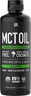 Premium MCT Oil derived from Organic Coconuts - 16oz BPA Free Bottle | Great in Keto Coffee,Tea, Smoothies & Salad Dressin...