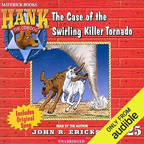 The Case of the Swirling Killer Tornado audiobook cover art