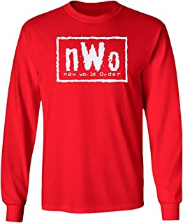 New Graphic Professional Wrestling Long Sleeve T-Shirt