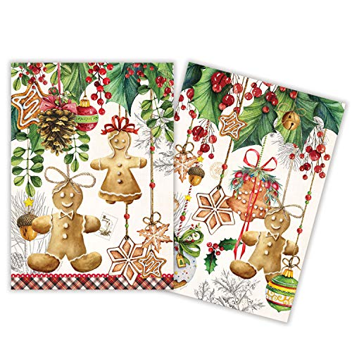 Michel Design Works Kitchen Towel Set - 2-Pack - Holiday Treats