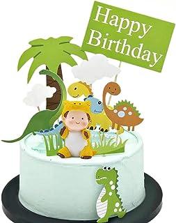 11 Pi/èces Wenxiaw Cake Topper Dinosaure Anniversaire Gateau Decor Dinosaure B/éb/é G/âteau Dinosaure Toppers pour Gar/çons Enfants Anniversaire Mariages B/éb/é Douches Parti D/écor Faveurs