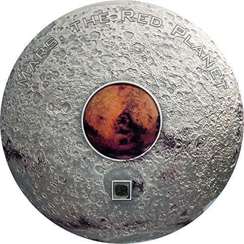 están haciendo actividades de descuento Mars The rojo Planet Marte Marte Marte Planeta rojo Meteorites 3 Oz Moneda plata 20  Cook Islands 2017  gran descuento