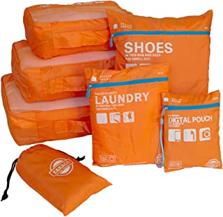 旅行用便利グッズ アレンジケース トラベルポーチ 6点セット軽量 防水 大容量 衣類 靴 化粧品 小物 洗面道具 収納ケース