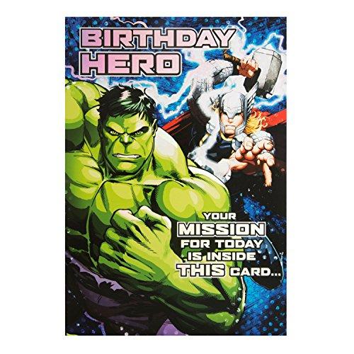 Hallmark Geburtstagskarte für Marvel