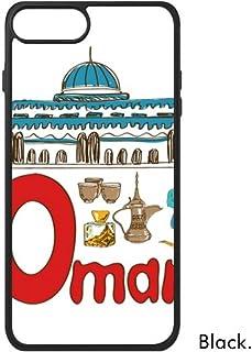 cold master DIY lab Omán - Funda para iPhone 8 y 8 Plus, Diseño de Símbolo Nacional, iPhone 8 Case