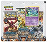 Speelgoed POC381 - Pokemon Xy11 Steam Siege 3 Booster Blister, Schreibwaren