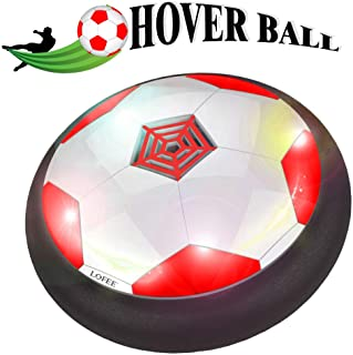LOFEE Indoor Sport for 3-12 Year Old Kids, Hover Soccer Ball Set with 2 Golas - Birthday Presnts for Children