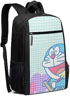 Doraemon - Mochila de viaje para ordenador portátil, de música, escuela, bolsa de ordenador para mujeres y hombres