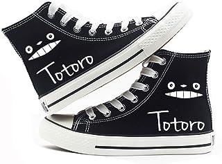 Cronell Story Unisexe Chaussures à Lacets Anime Totoro Impression Numérique Casual Chaussures Étudiants à Chaussures De To...