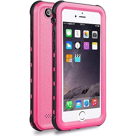 Custodia Impermeabile iPhone 6, Cover iPhone 6s, IP68 Certificato Antiurto Subacquea Caso Full Protezione Case Protettiva Waterproof Cover per iPhone ...