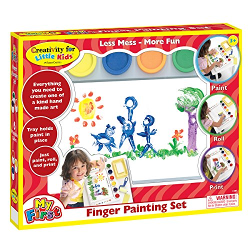 Tirages de doigt Finger Painting Set-
