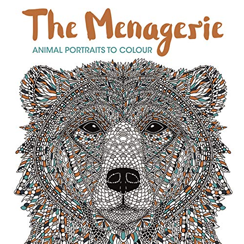 The Menagerie: Animal Portraits to Colour