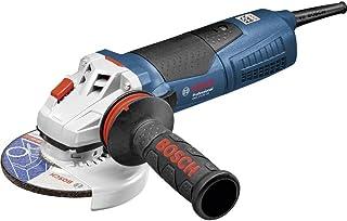 Bosch Professional - Amoladora angular GWS 17-125 CIE ( 1700 W, diám. disco 125 mm, maletín)