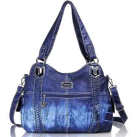 Angel Barcelo Roomy Fashion Hobo Damenhandtaschen, Damen Geldbörse, Umhängetaschen Blau