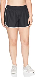 Just My Size Women's Plus Size Active Woven Run Short