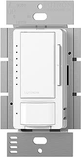 Lutron MSCL-VP153M-WH Maestro CL Single-Pole/Multi-Location Vacancy Sensing Dimmer, White