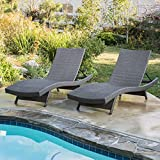 Christopher Knight Home 662 Salem Chaise Outdoor Lounge