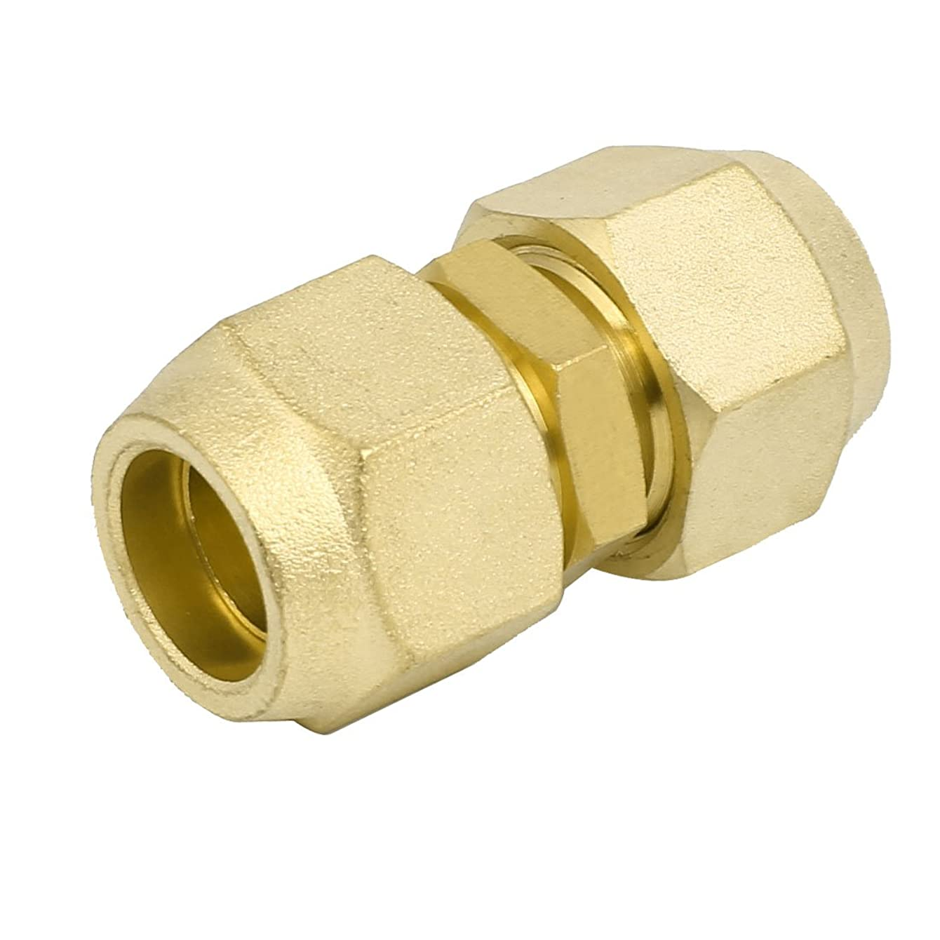 Aexit 3/4BSP Double Civil Equipment Hardware Accessories Brass Flare Nut Air Conditioner Part Fitting for 3/4
