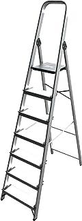 comprar comparacion ALTIPESA - Escalera Doméstica de Aluminio, Peldaño 12 cm. (7 peldaños)