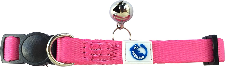 Purrlala Adjustable Cat Collar Charm Bell