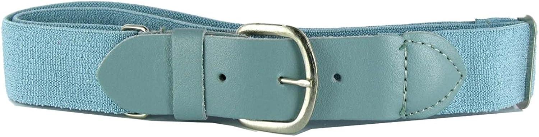 Champion Sports Adjustable Elastic Youth Baseball Softball Lt Blue Uniform Belt
