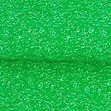 Baumwolljersey marmoriert grün Modestoffe Kinderstoffe