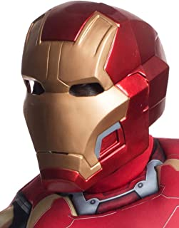 """Avengers 2 - Age of Ultron:""""Mark 43"""" Iron Man 2 Piece Mask For Men"""