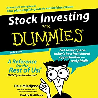 Stock Investing for Dummies, 2nd Edition audiobook cover art
