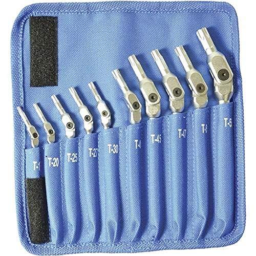 Bondhus K22 HEX-PRO Pivot Head Torx Wrench,Sizes: T15,20,25,27,30,40,45,47,50,55