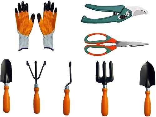 Truphe Gardening Tools Set Kit of 8