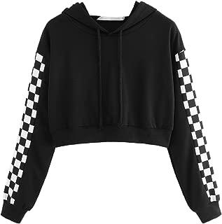 Best checkered sleeve sweatshirt Reviews