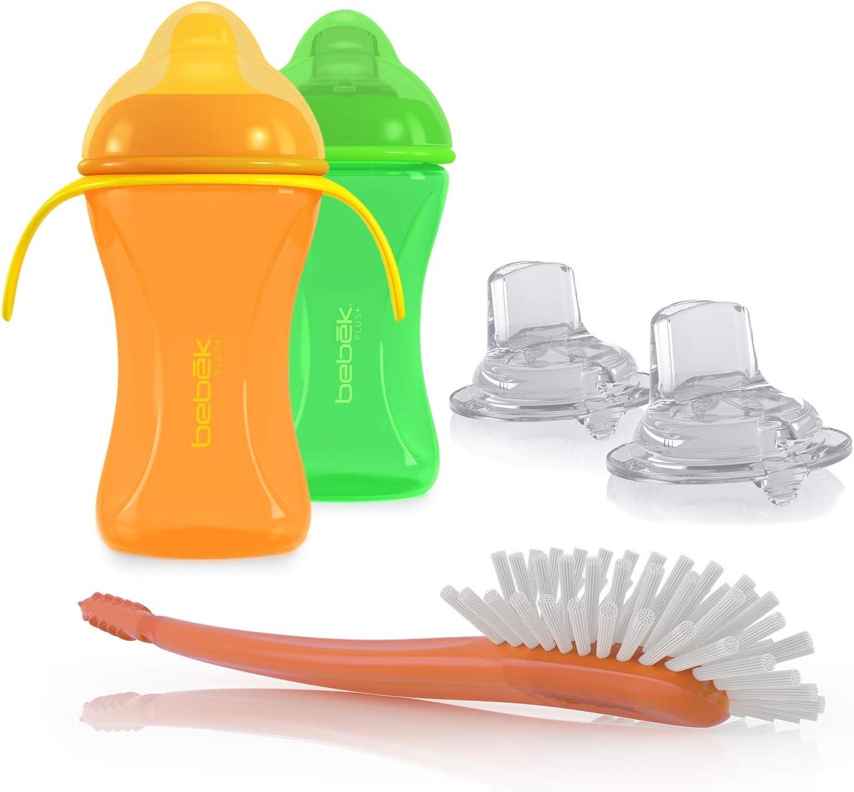 Bebek 1 Sale special price Soft Flexible Spout w Handles Cups Spouts Extra Max 70% OFF 8oz