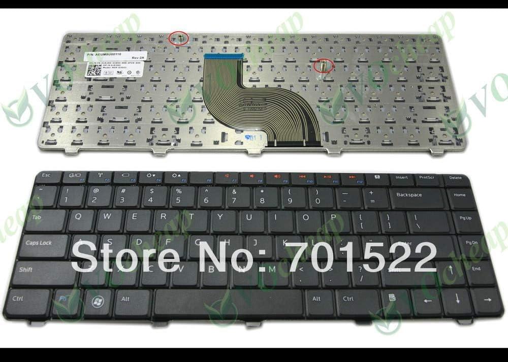 Lysee Replacement Keyboards - Laptop keyboard FOR Dell for Inspiron 13R N3010 14R N4010 N4020 N4030 M4010 15 N5030 M5030 Black US version - NSK-DJD01