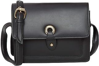 ADISA Women's Sling Bag (Black)