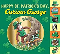 Happy St. Patrick's Day, Curious George tabbed board book