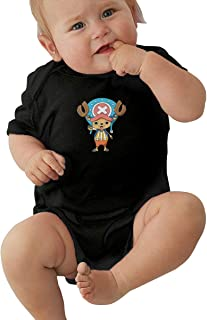 ONE Piece Comic Tony Tony Chopper Baby Boy T Shirt Cute Onesies Black