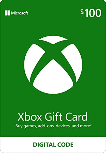 $100 Xbox Gift Card [Digital Code]