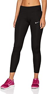 3c37b6d2c826d NIKE Women's Running Tight Power Essential Tight (Black, ...