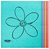 Skoy Eco-Friendly Cleaning Cloth (4-Pack: Assorted Colors), 1 EA