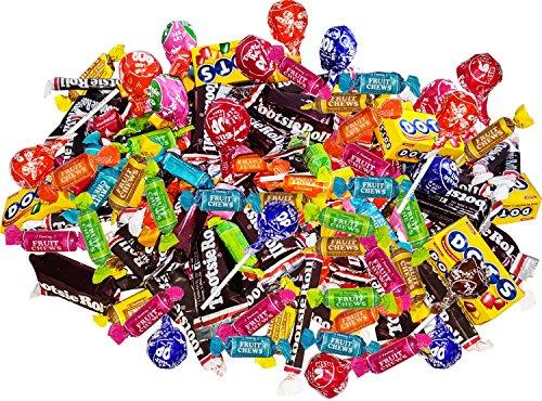 Bulk Tootsie Rolls Variety Bulk Pack 5.3-Lb American Candy Assortment Gluten Free Value Pack 84.8-Oz 205-pcs+