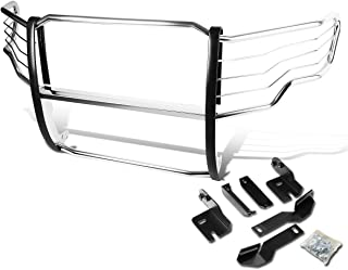 For Ford F150 Pickup Truck Front Bumper Protector Brush Grille Guard (Chrome)