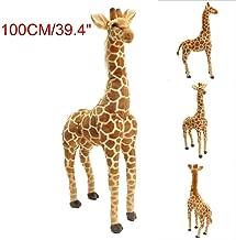 xiangshang shangmao 100cm 40'' Big Plush Giraffe Giant Large Soft Doll Kid Gift Stuffed Animal