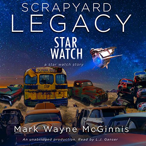 Scrapyard Legacy audiobook cover art