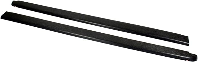 Wade 72-40151 Truck Bed Rail Caps Black Smooth Finish without Stake Holes for 1999-2007 Silverado & Sierra 1500 2500 (Classic only) with 6.5ft bed (Set of 2)