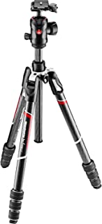 Manfrotto MKBFRTC4GT-BHUS Befree Advanced Travel Tripod, Twist Lock with Ball Head for Canon, Nikon, Sony, DSLR, CSC, Mirr...
