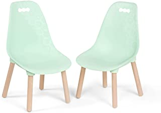 B. spaces by Battat – Kid-Century Modern: Trendy Toddler Chair Set of Two Kids Chairs – Kids Furniture Set for Toddlers an...