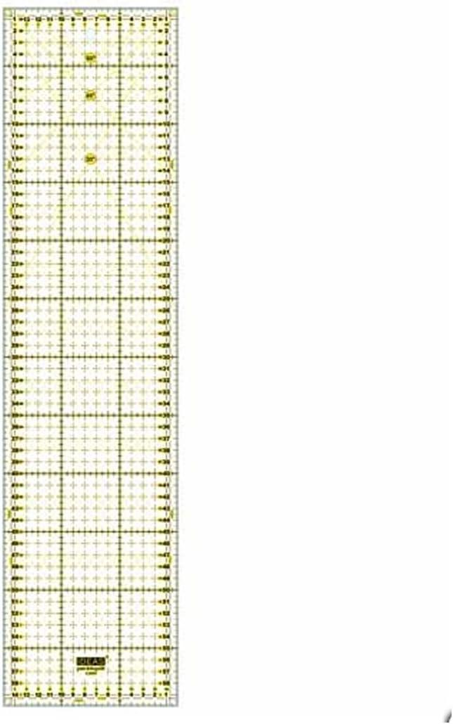 Regla para Patchwork 15x60 centímetros: Amazon.es: Hogar