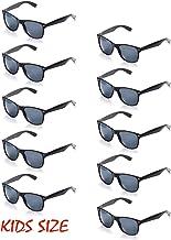 Onnea Paquete 10 Piezas Gafas de Sol de Fiesta 100% de Protección UV para Niño (10 Negro)